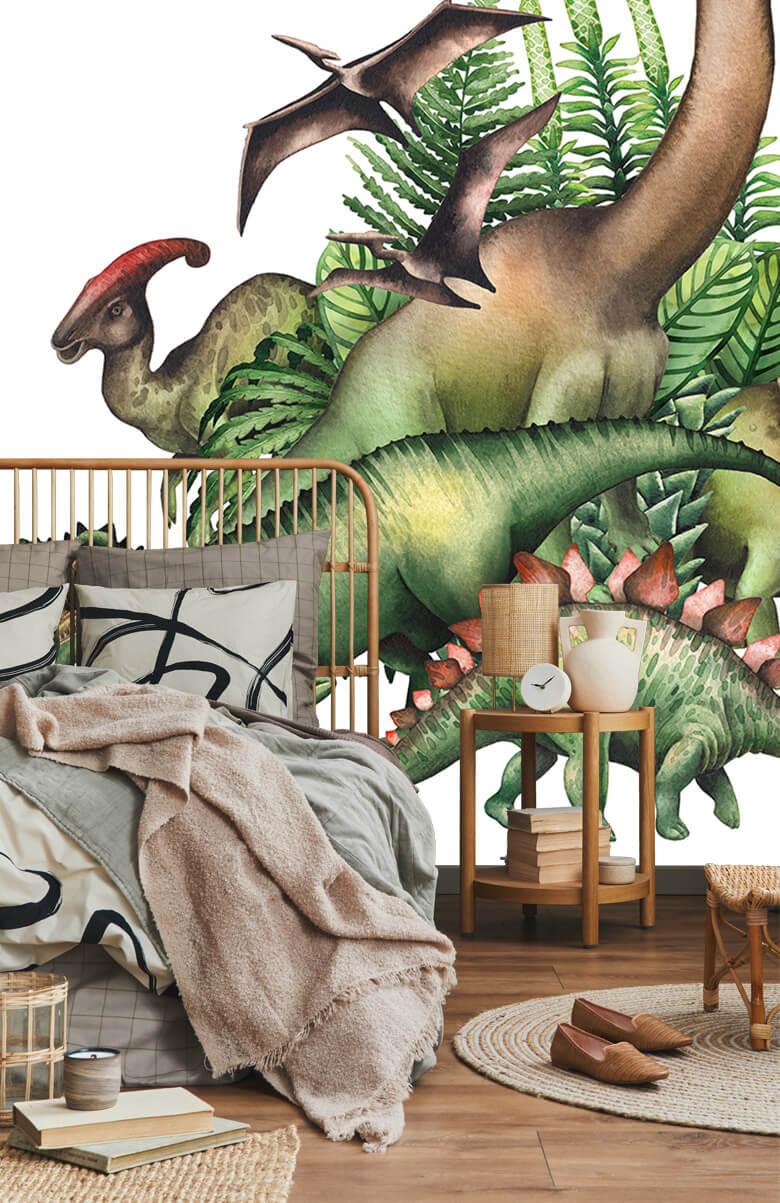 Dino's à l'aquarelle 3
