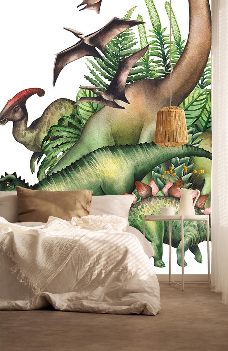 Dino's à l'aquarelle 6