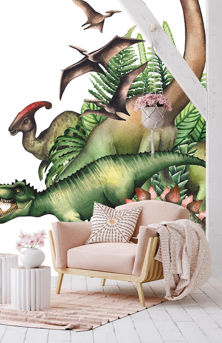 Dino's à l'aquarelle 7