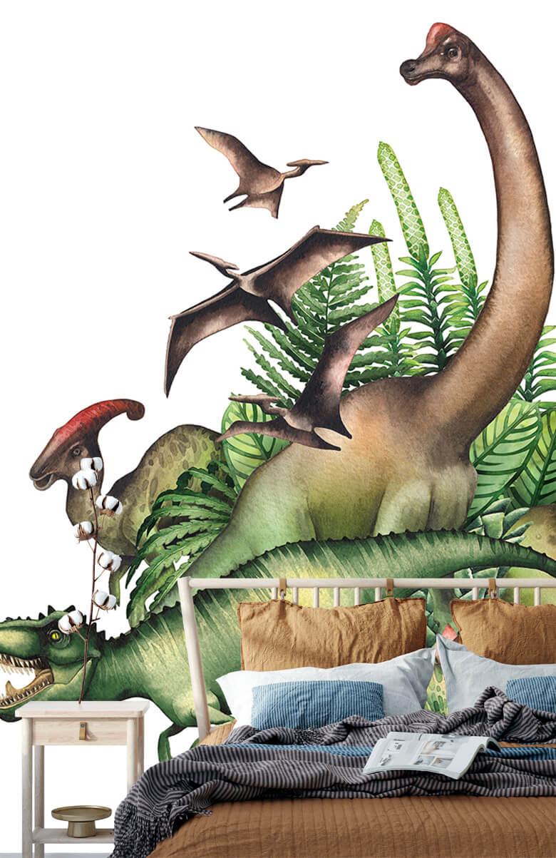 Dino's à l'aquarelle 2