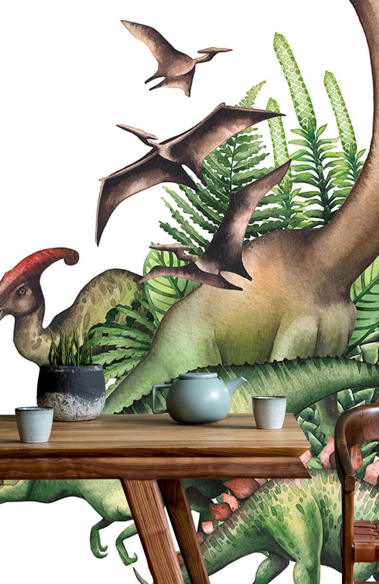 Dino's à l'aquarelle 8