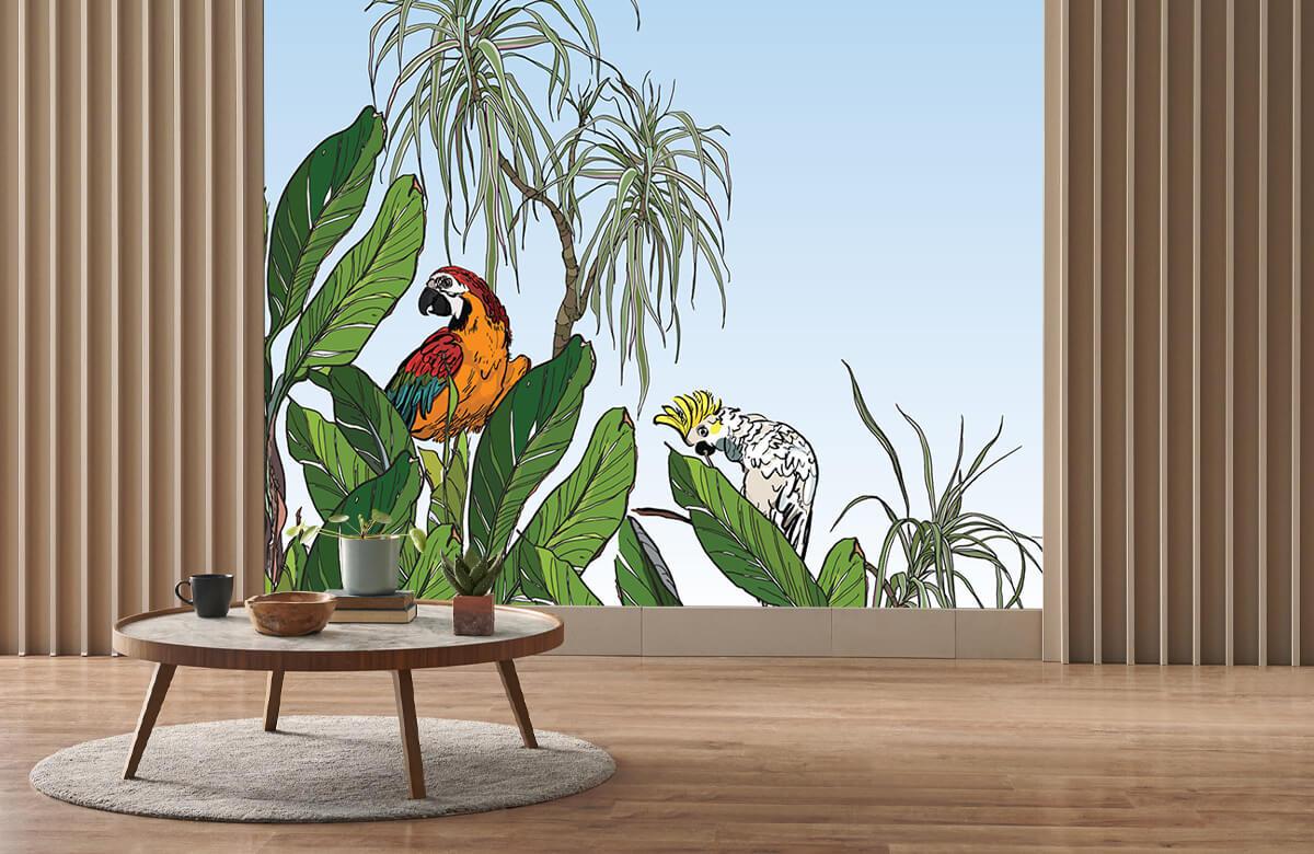 Oiseaux dans la jungle 4