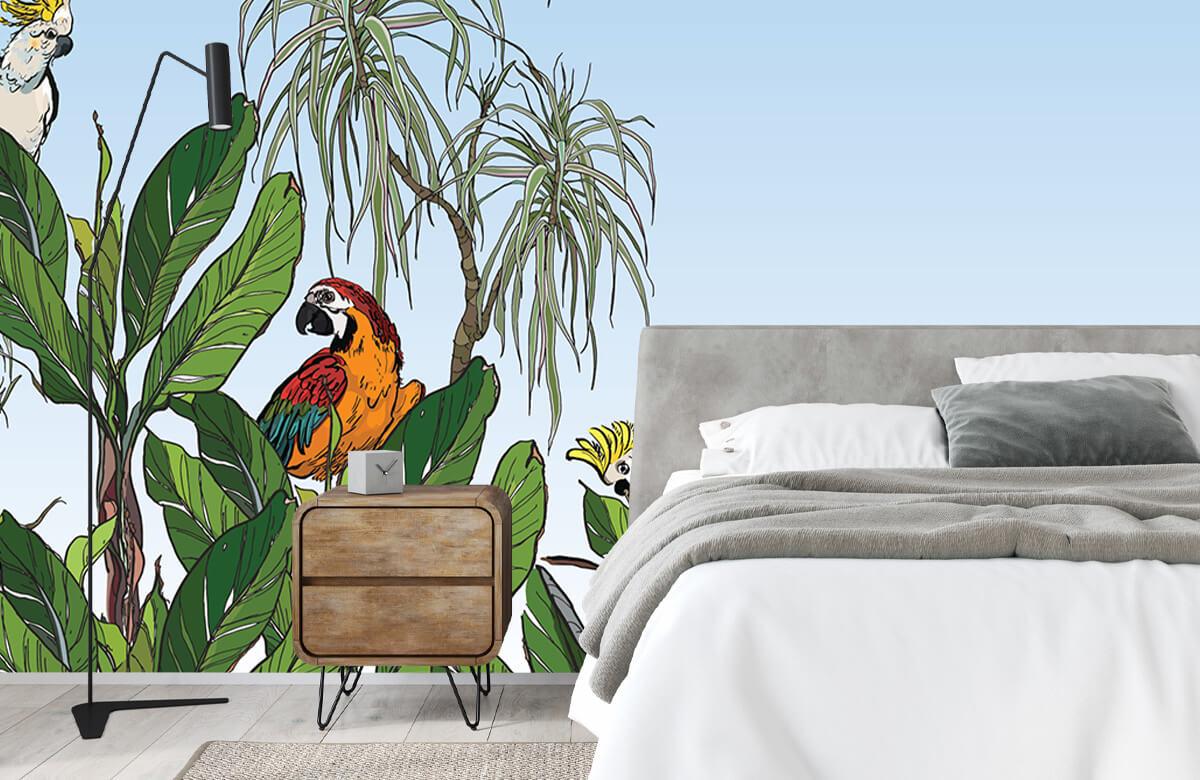 Oiseaux dans la jungle 2