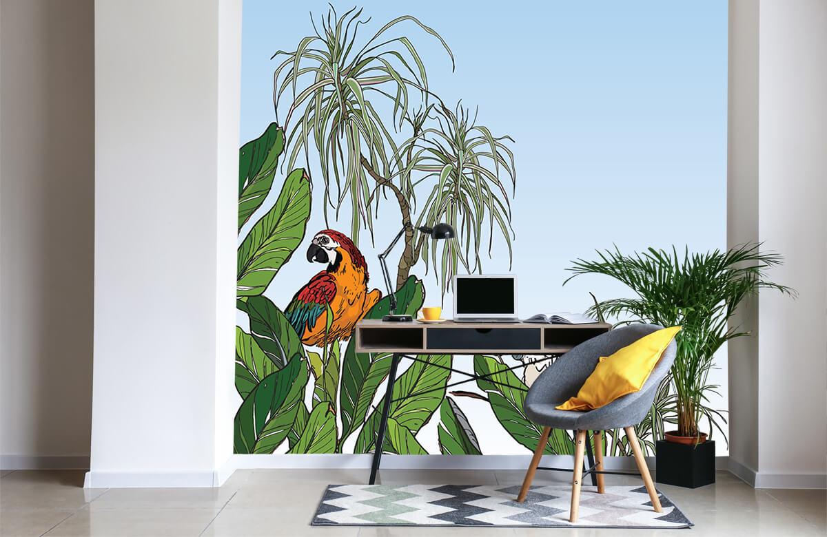 Oiseaux dans la jungle 5