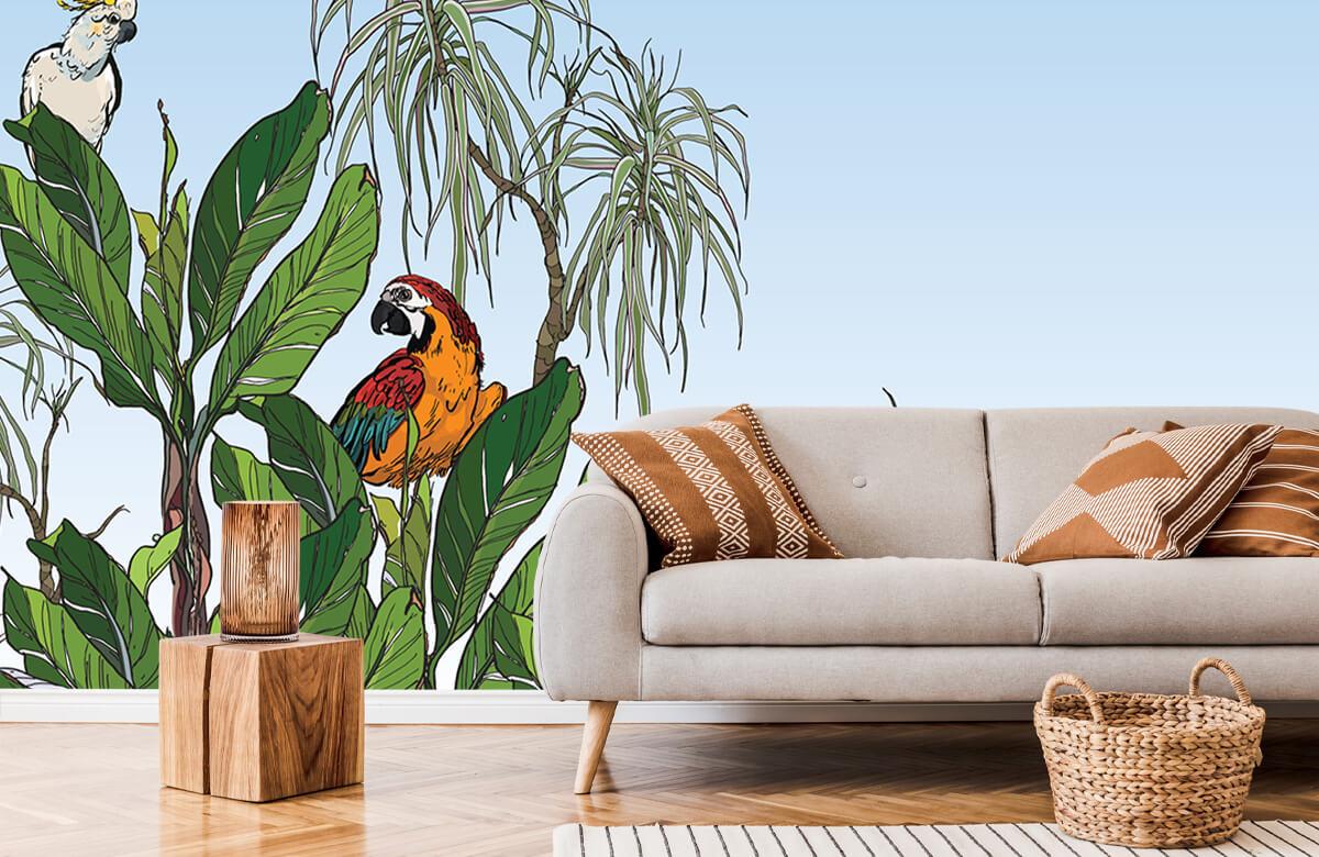 Oiseaux dans la jungle 7