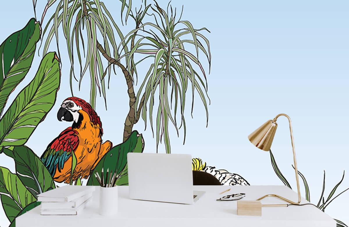 Oiseaux dans la jungle 8