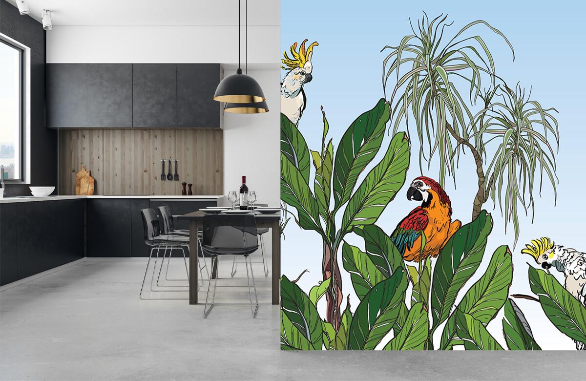Oiseaux dans la jungle 10
