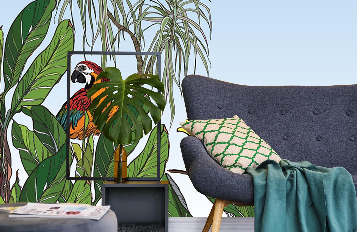 Oiseaux dans la jungle 1