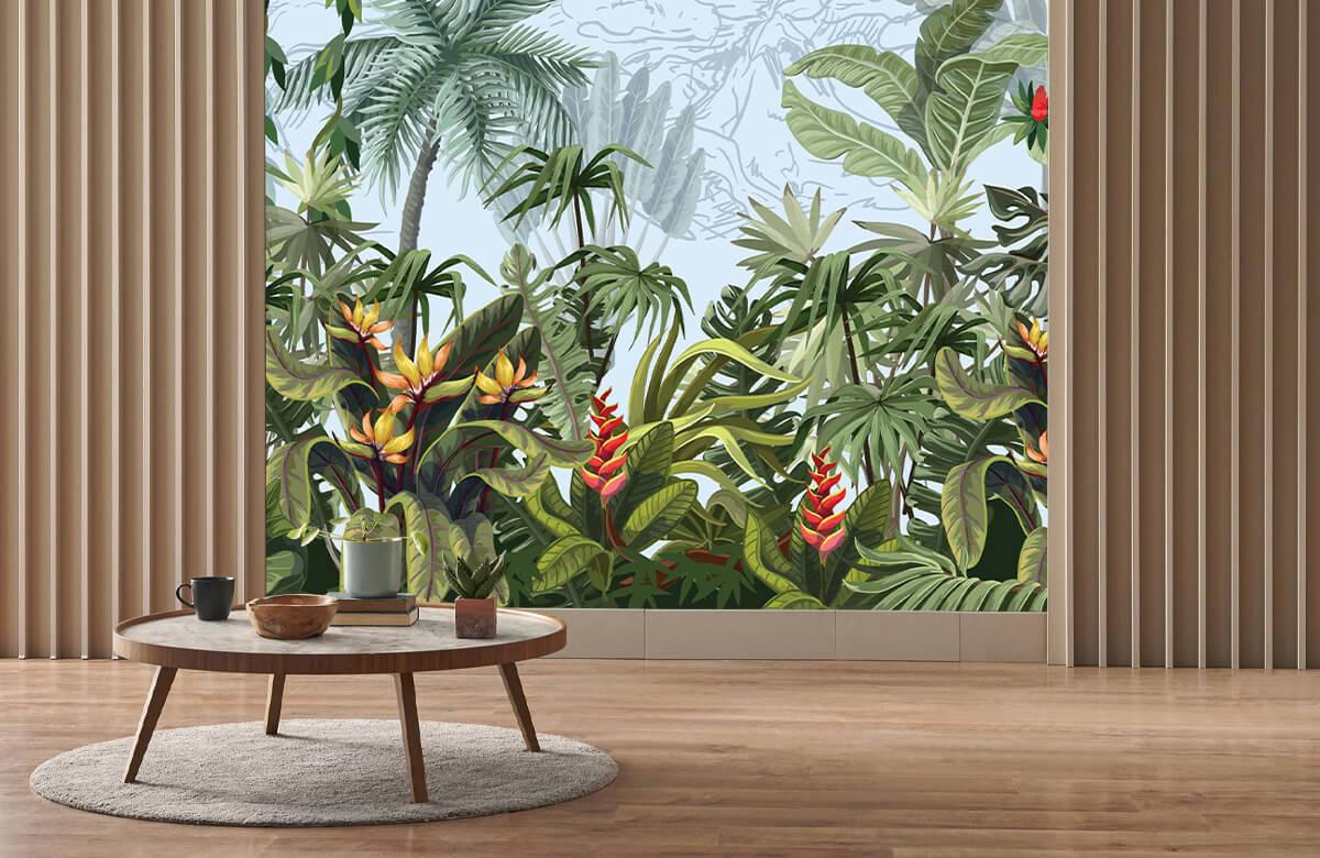 Arbres et fleurs de la jungle 4