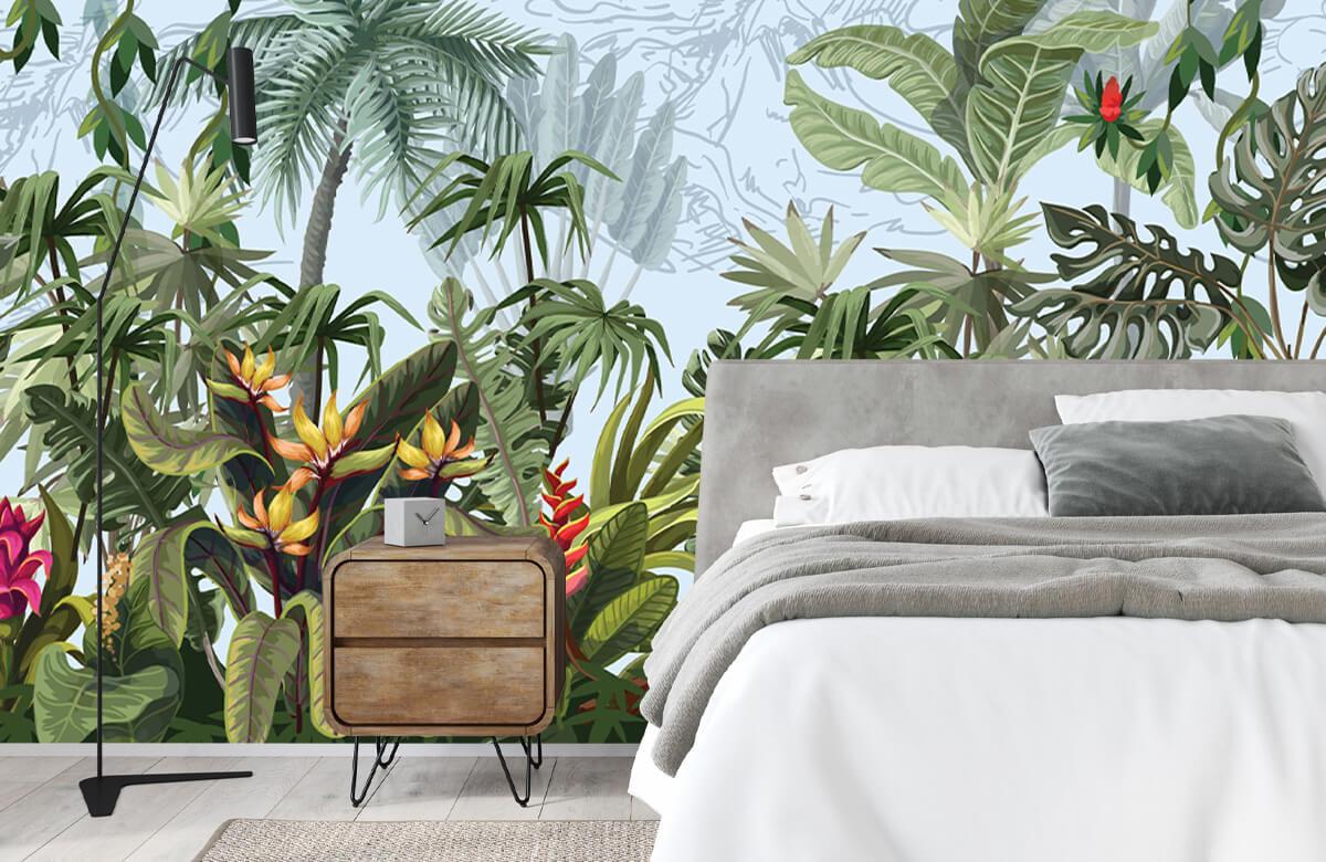 Arbres et fleurs de la jungle 2