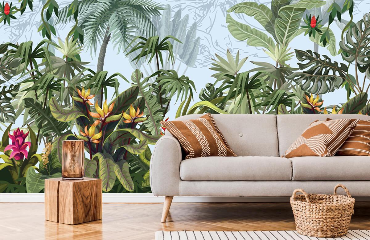 Arbres et fleurs de la jungle 6