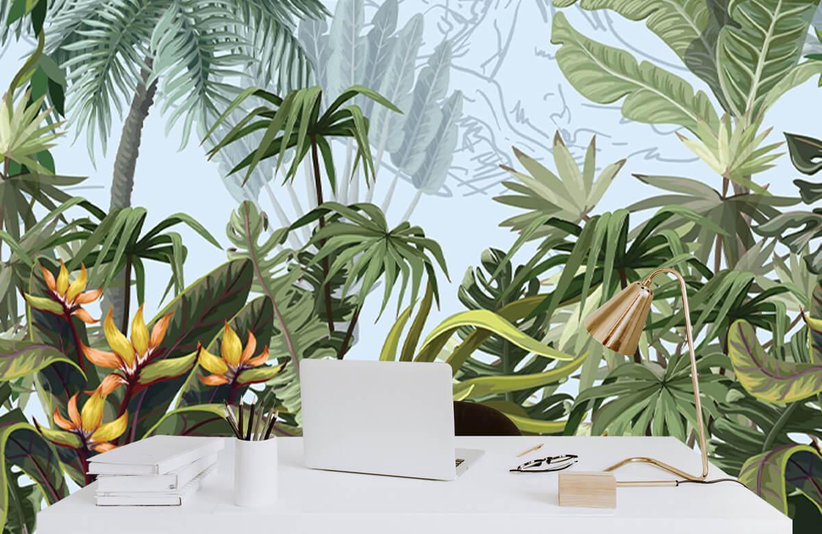 Arbres et fleurs de la jungle 7