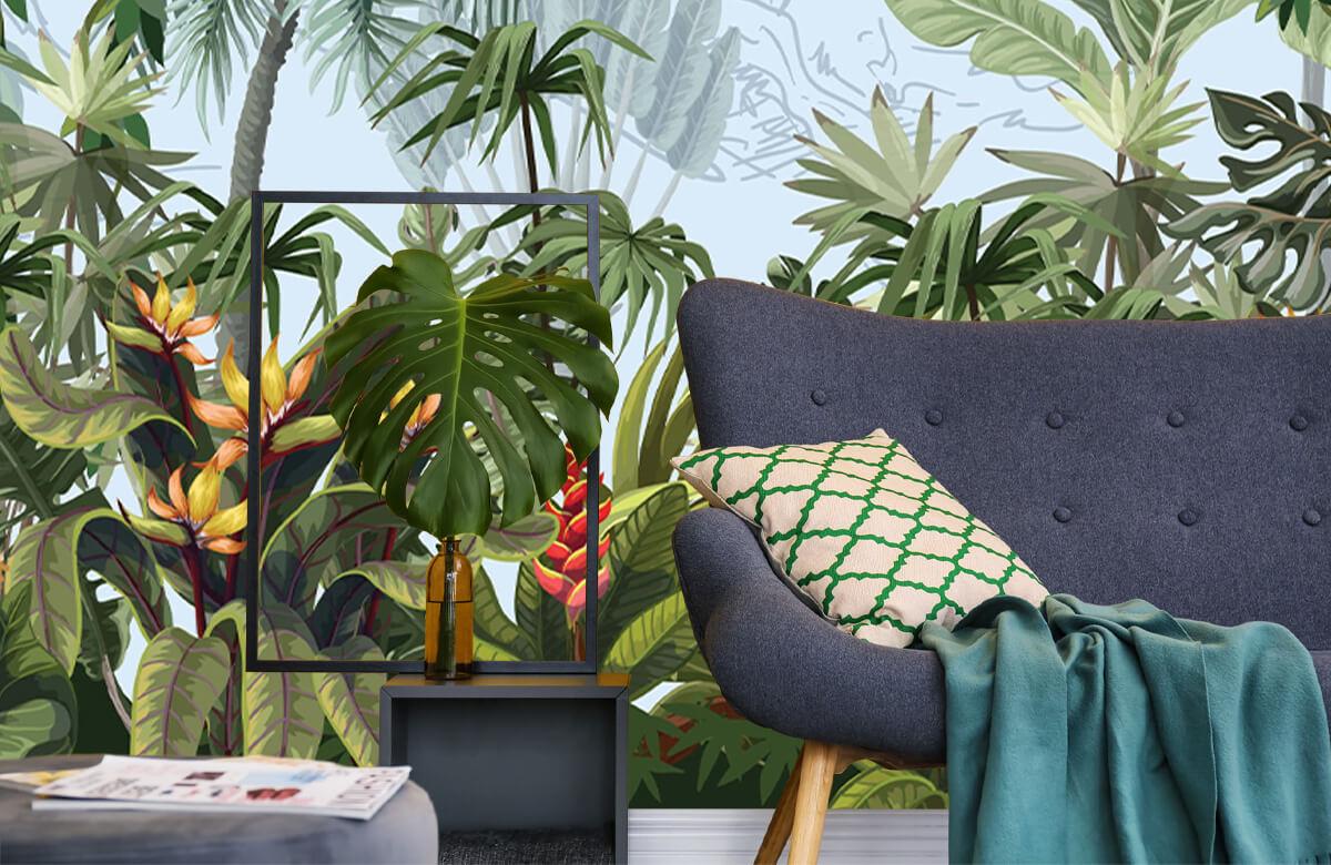 Arbres et fleurs de la jungle 10